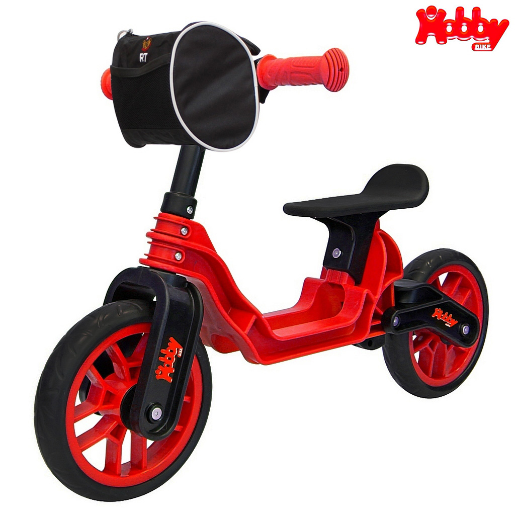Беговел - Hobby bike Magestic, red blackБеговелы<br>Беговел - Hobby bike Magestic, red black<br>