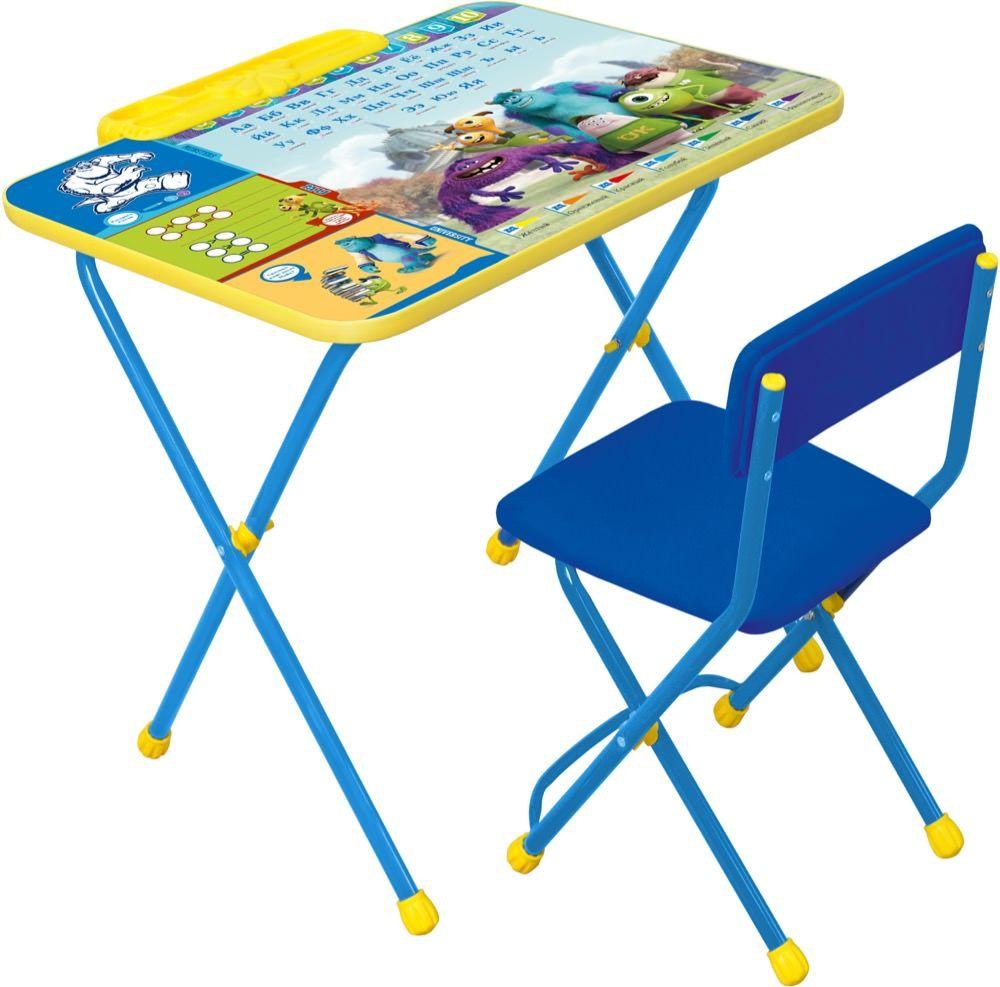 Набор мебели Disney2  Университет Монстров, голубой - Парты, артикул: 159336