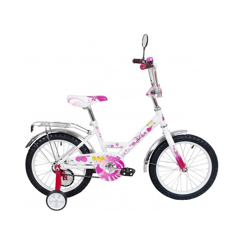 Двухколесный велосипед Black Aqua Фея, диаметр колес 12 дюймов, розовыйВелосипеды детские<br>Двухколесный велосипед Black Aqua Фея, диаметр колес 12 дюймов, розовый<br>