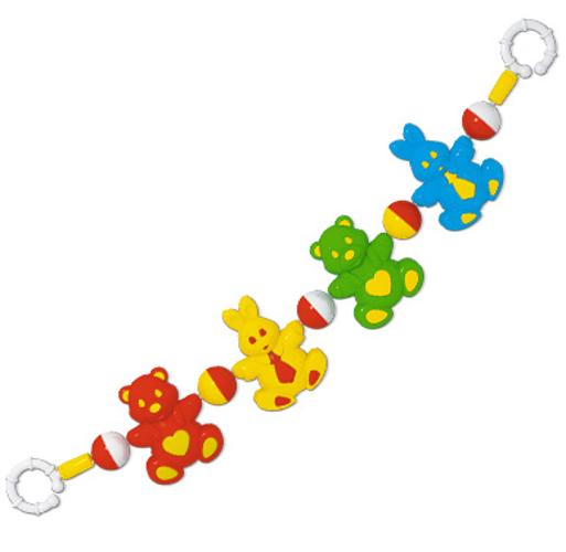 Подвеска-погремушка на коляску «Лесная сказка»Детские погремушки и подвесные игрушки на кроватку<br>Подвеска-погремушка на коляску «Лесная сказка»<br>