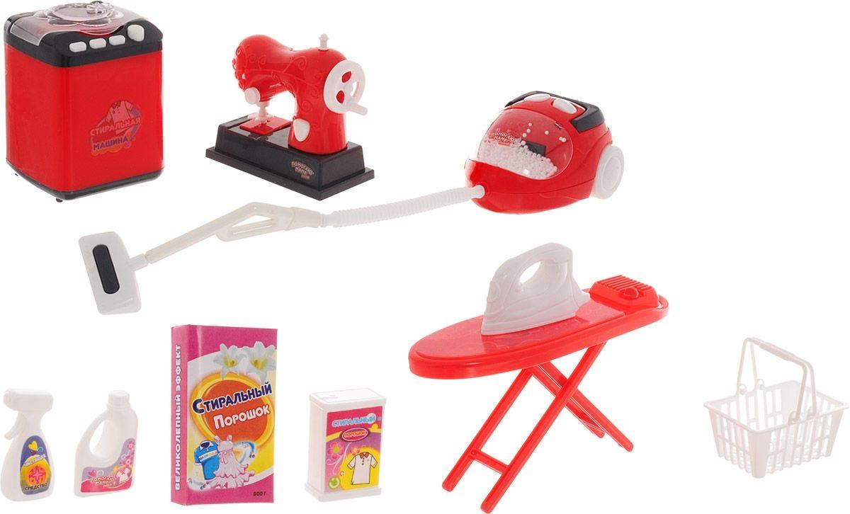 Набор для уборки, стирки и шитья – Помогаю Маме.Уборка дома, стирка, глажка<br>Набор для уборки, стирки и шитья – Помогаю Маме.<br>