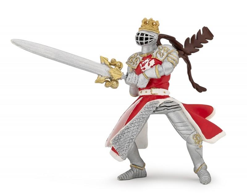 Игровая фигурка – рыцарь Король-Дракон с мечомФигурки Papo<br>Игровая фигурка – рыцарь Король-Дракон с мечом<br>