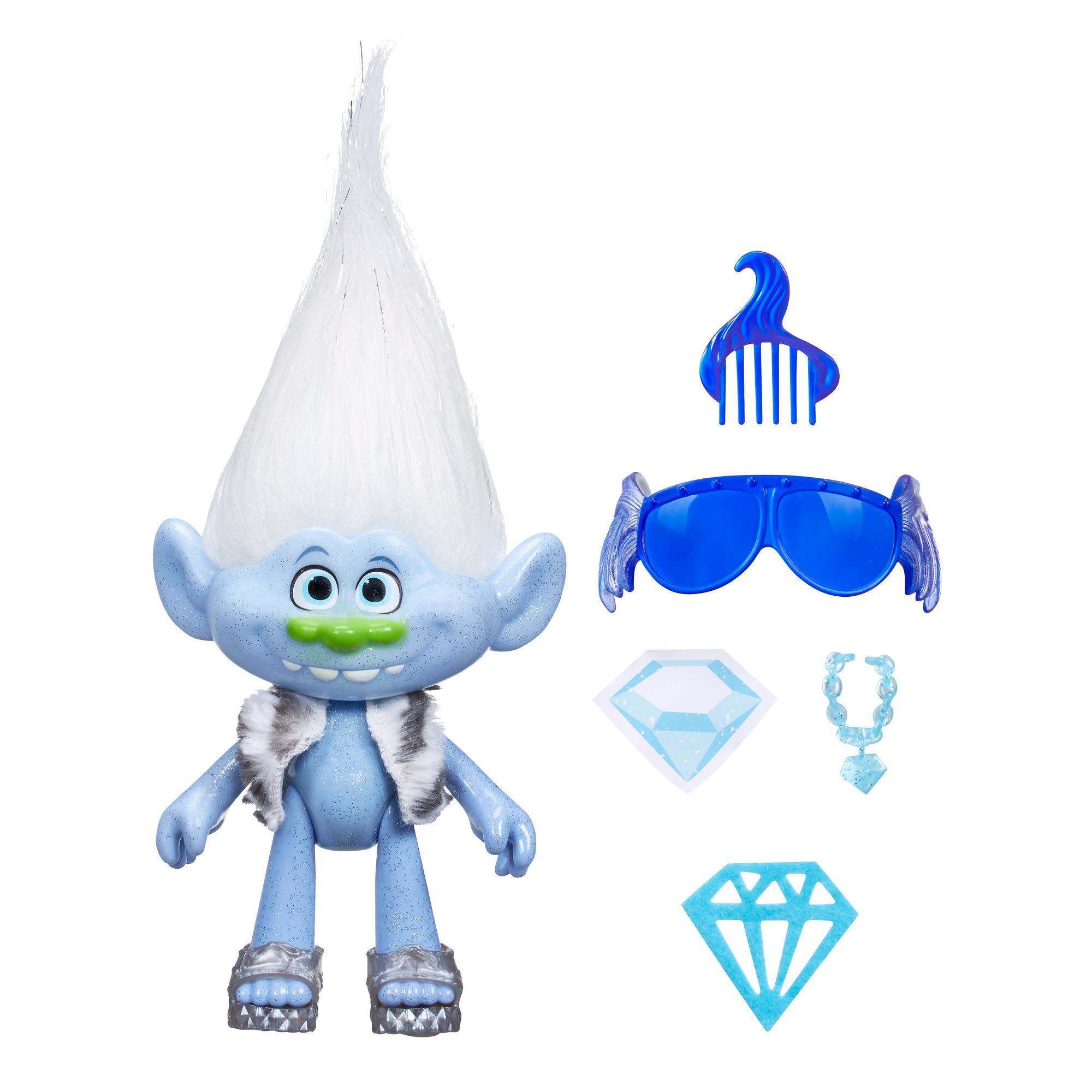 Trolls. Фигурка Тролли - Алмаз с аксессуарамиТролли игрушки<br>Trolls. Фигурка Тролли - Алмаз с аксессуарами<br>