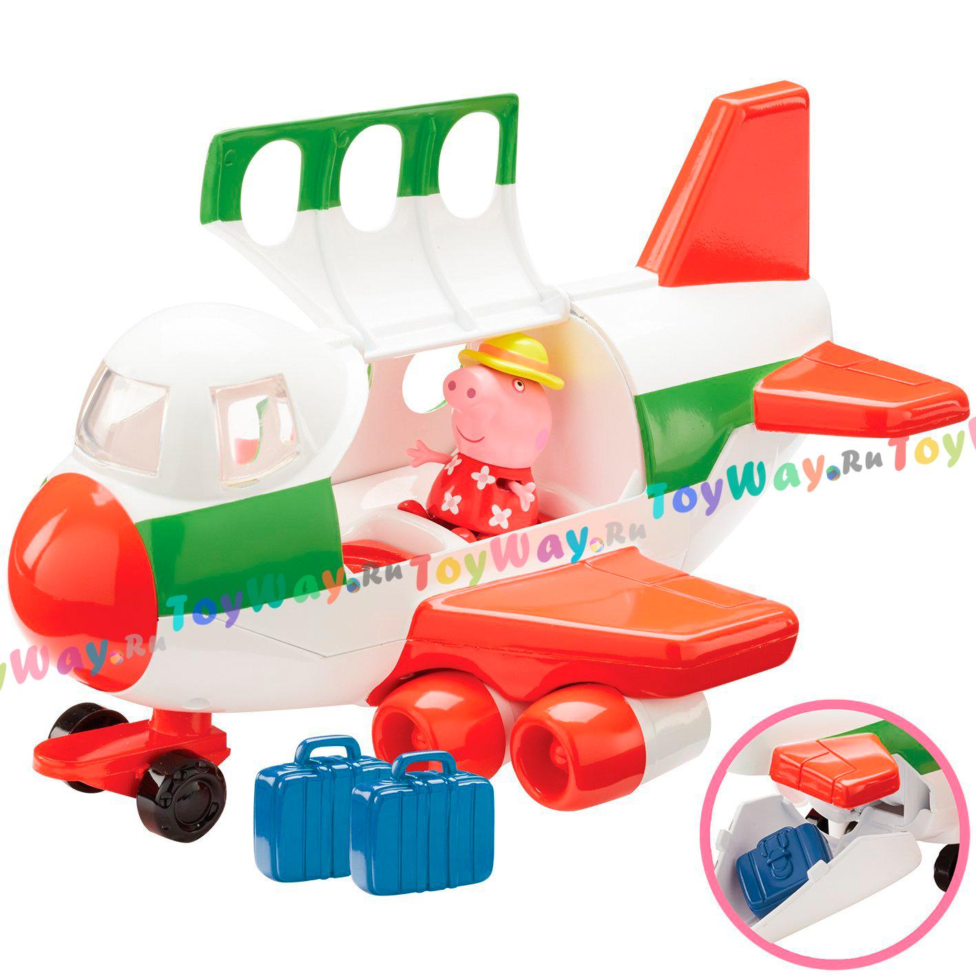 Игровой набор – Самолет с фигуркой из серии Свинка ПеппаСвинка Пеппа (Peppa Pig )<br>Игровой набор – Самолет с фигуркой из серии Свинка Пеппа<br>