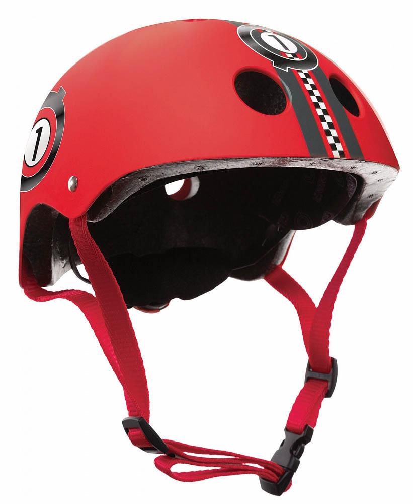 Купить Шлем - Globber Printed Junior, XXS/XS, 48-51 см, красный