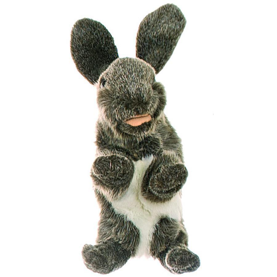 Купить Мягкая игрушка на руку – Кролик, 33 см, Living Puppets