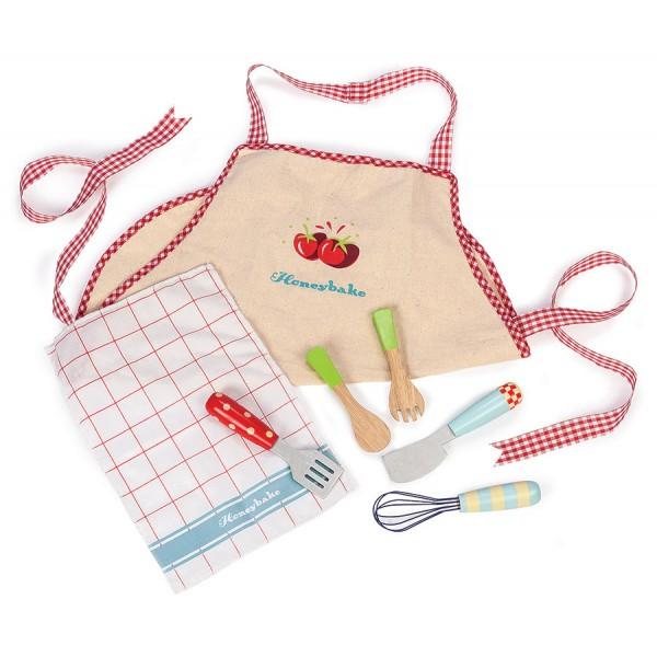 Игровой набор деревянный «Подарок поваренку»Аксессуары и техника для детской кухни<br>Игровой набор деревянный «Подарок поваренку»<br>