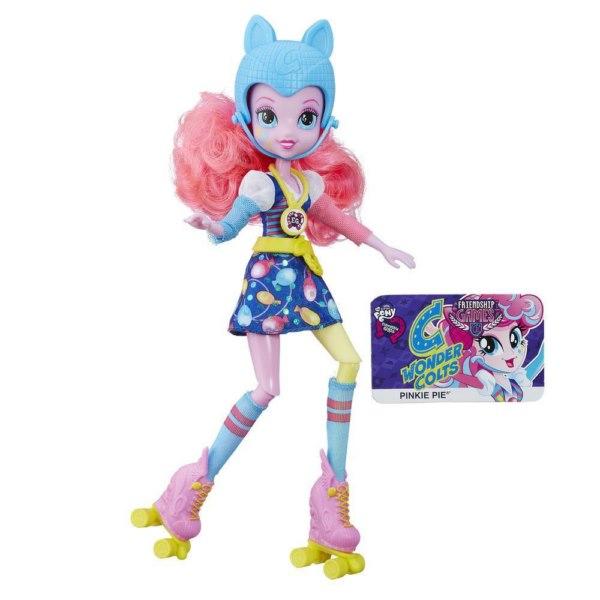 Кукла Пинки Пай на роликах из серии Эквестрия ГерлзКуклы Девушки Эквестрии (Equestria Girls)<br>Кукла Пинки Пай на роликах из серии Эквестрия Герлз<br>