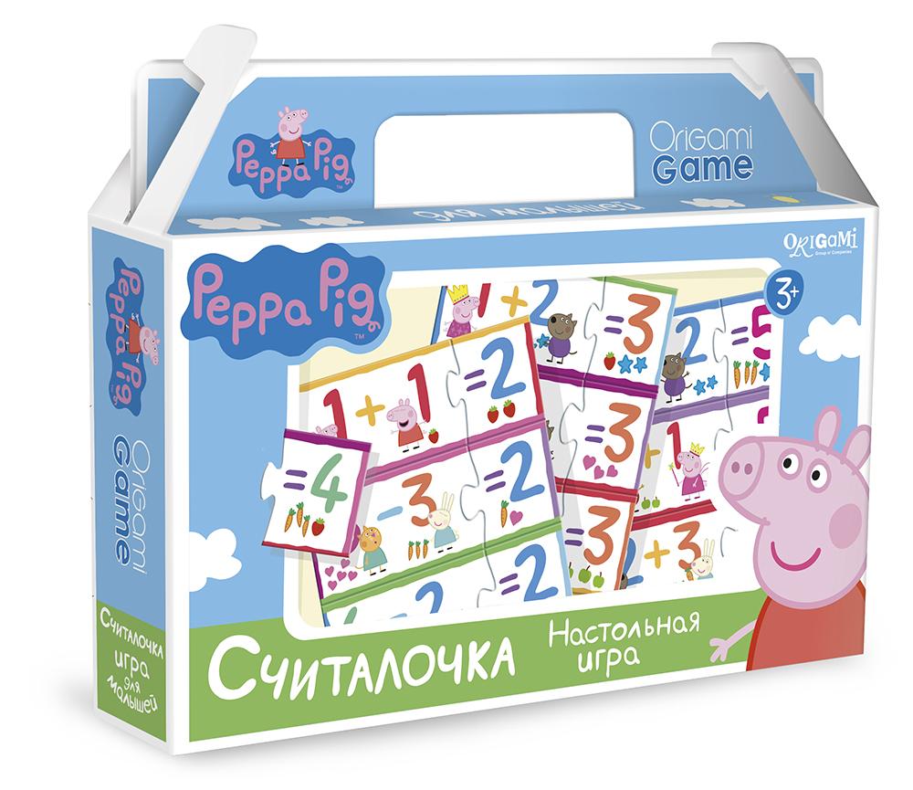 Peppa Pig. Игра настольная. СчиталочкаСвинка Пеппа Peppa Pig<br>Peppa Pig. Игра настольная. Считалочка<br>