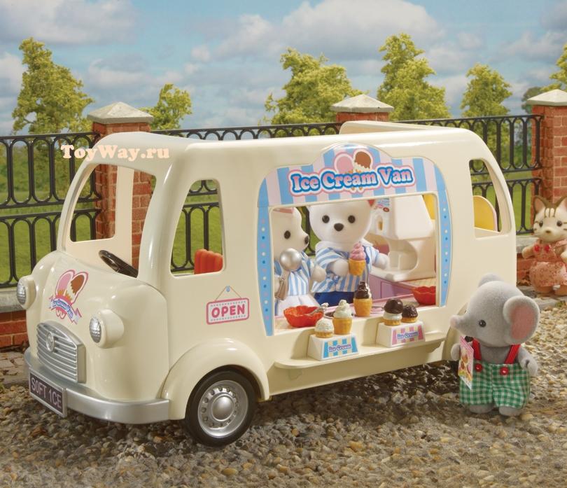 Фургон с мороженым - Игрушки Sylvanian Families, артикул: 28179