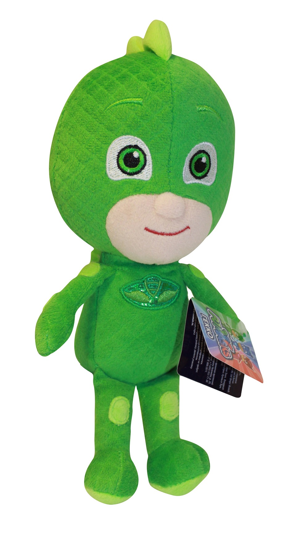 Купить Мягкая игрушка Гекко из серии Герои в масках, 20 см., Росмэн
