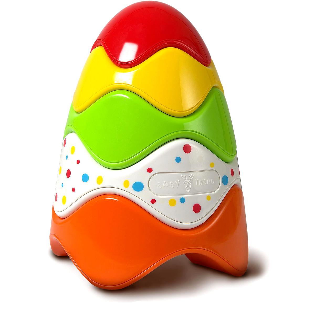Развивающая игрушка – Пирамидка с 5 колечкамиСортеры, пирамидки<br>Развивающая игрушка – Пирамидка с 5 колечками<br>