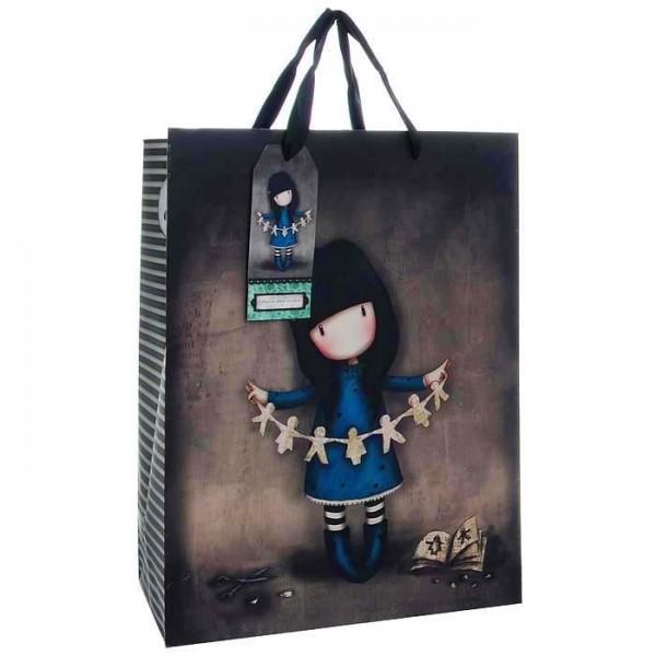 Купить Подарочная сумка Family in a Book, средняя из серии Gorjuss, Santoro London