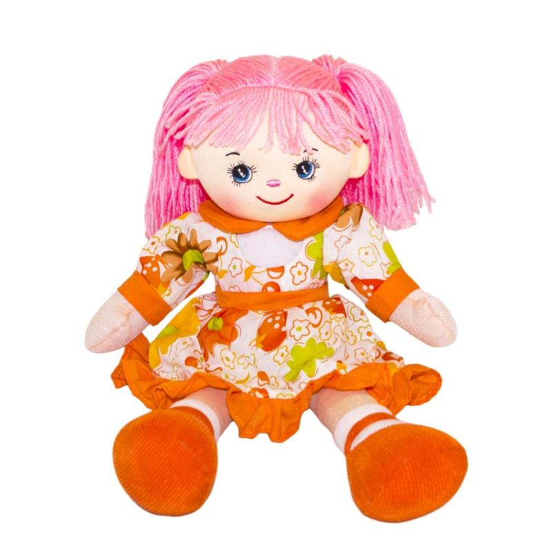 Мягкая кукла Нектаринка, 30 см.Мягкие куклы<br>Мягкая кукла Нектаринка, 30 см.<br>