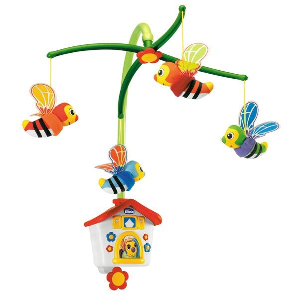 Мобиль-подвеска «Пчелки»Мобили и музыкальные карусели на кроватку, игрушки для сна<br>Мобиль-подвеска «Пчелки»<br>