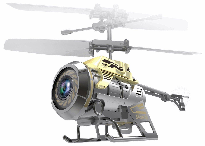 Вертолет на радиоуправлении 3-канальный с камерой Spy Cam Nano Silverlit