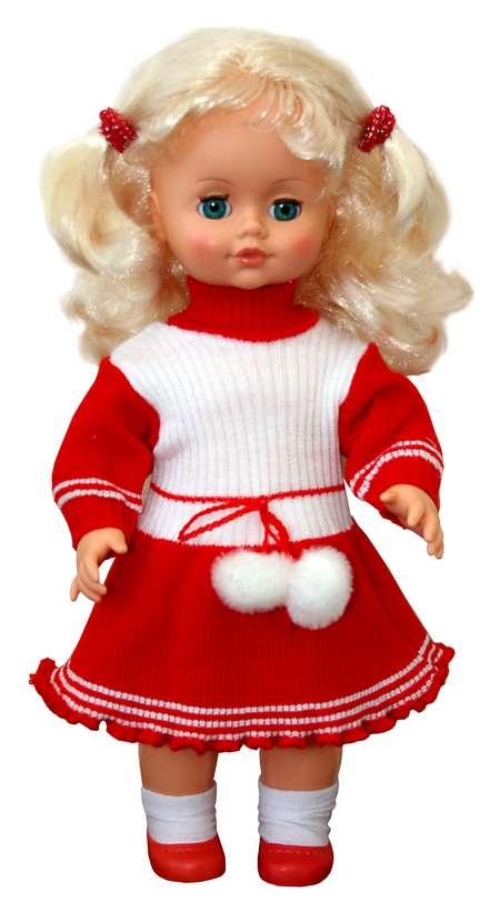 Кукла Инна 2 со звуком, 43 смРусские куклы фабрики Весна<br>Кукла Инна 2 со звуком, 43 см<br>
