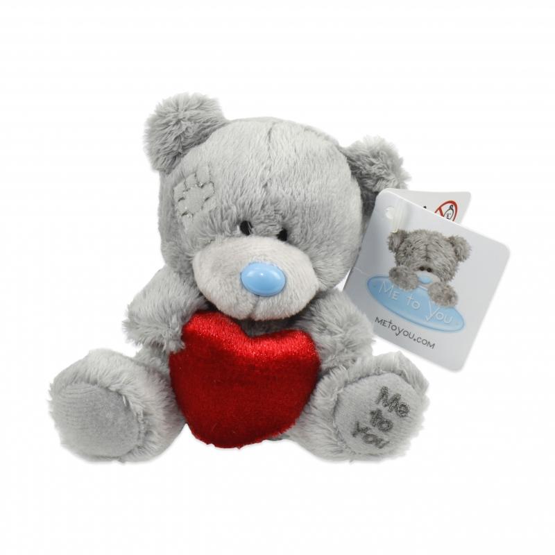 Купить со скидкой Мягкая игрушка Me to You - Плюшевый Мишка с сердечком, 9 см