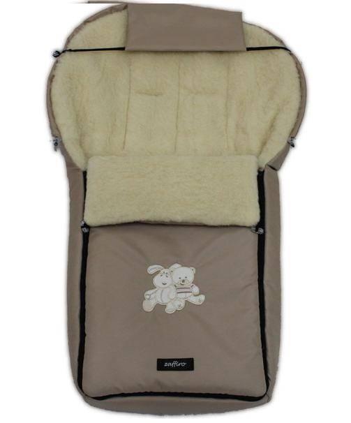 Спальный мешок в коляску №06 – Aurora. Бежевый 1/1