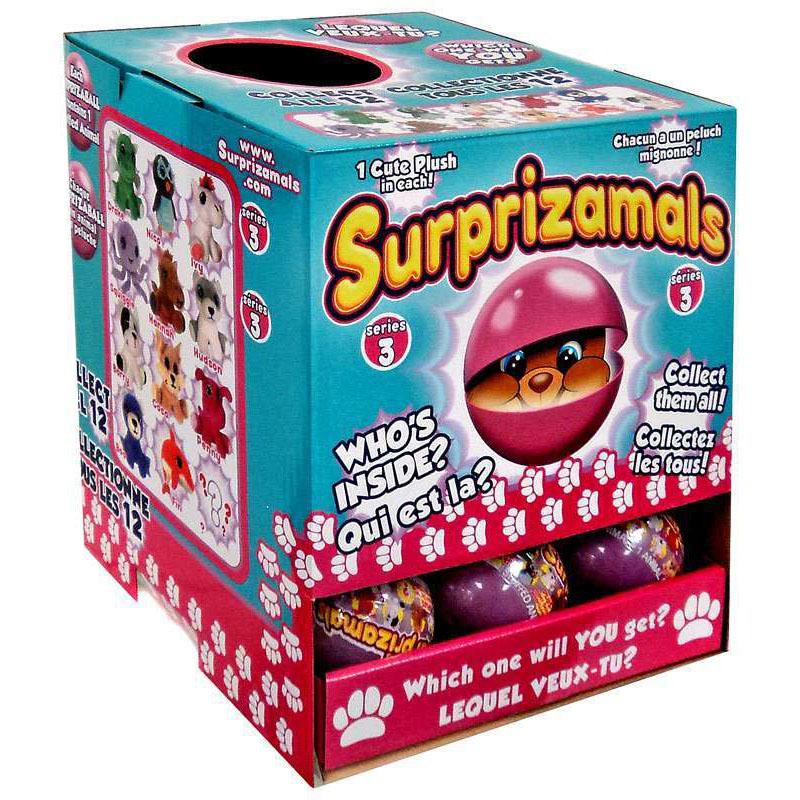 Плюшевая фигурка Surprizamals в капсуле, series 3Животные<br>Плюшевая фигурка Surprizamals в капсуле, series 3<br>