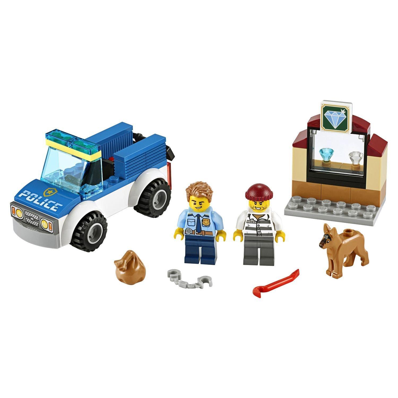 Конструктор Lego® City Police - Полицейский отряд с собакой