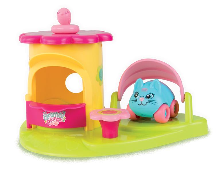 Набор серии Animal Planet  Mашинка + домик - Мини-машинки Smoby Vroom Planet, артикул: 85110