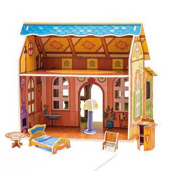 Купить Конструктор 3D - Кукольный домик, Malamalama