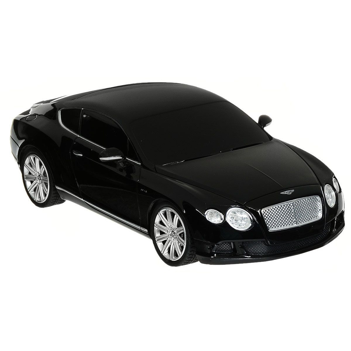 картинка Радиоуправляемая машина - Bentley Continental GT Speed, цвет черный, 1:24, 27MHZ от магазина Bebikam.ru