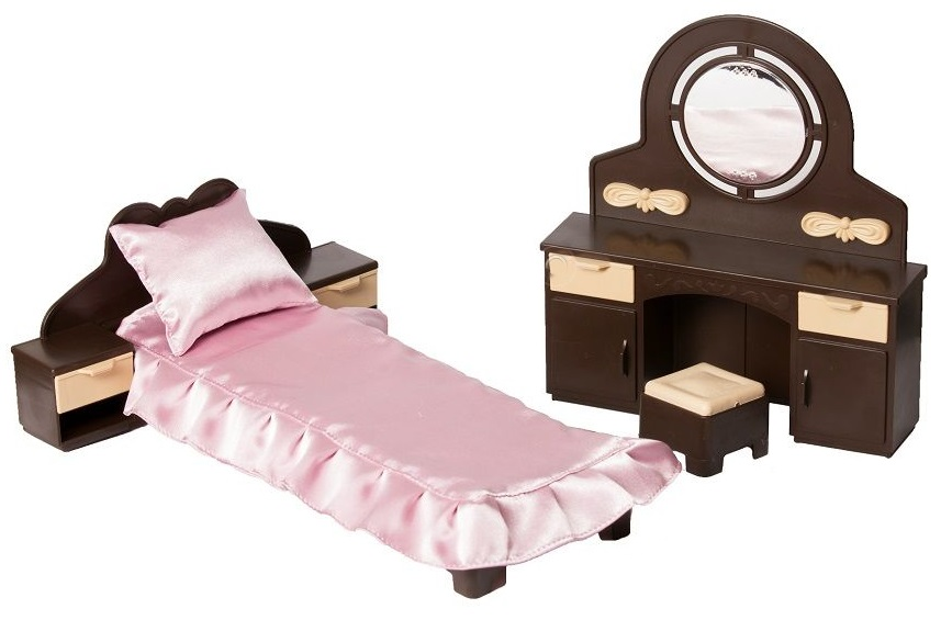 Набор мебели для спальни «Коллекция»Кукольные домики<br>Набор мебели для спальни «Коллекция»<br>