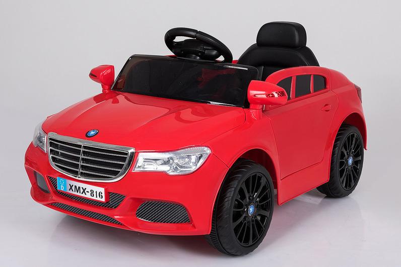 Электромобиль BMW MB красныйЭлектромобили, детские машины на аккумуляторе<br>Электромобиль BMW MB красный<br>