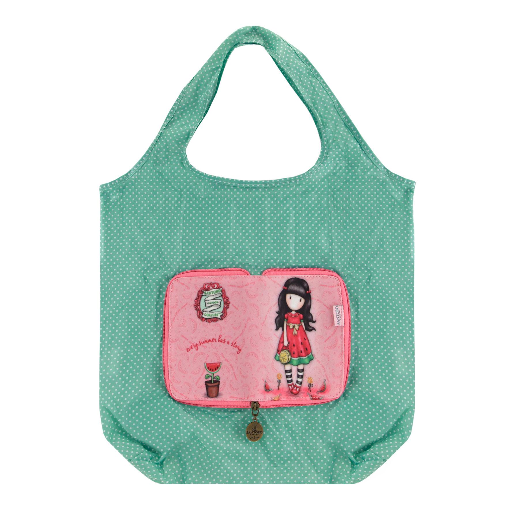 Складывающаяся сумка для покупок - Every Summer Has A Story из серии Gorjuss