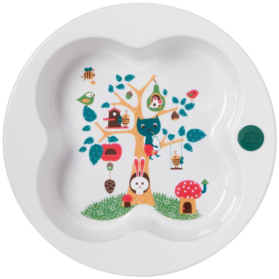 Тарелка в форме лаврового листаТовары для кормления<br>Тарелка в форме лаврового листа<br>