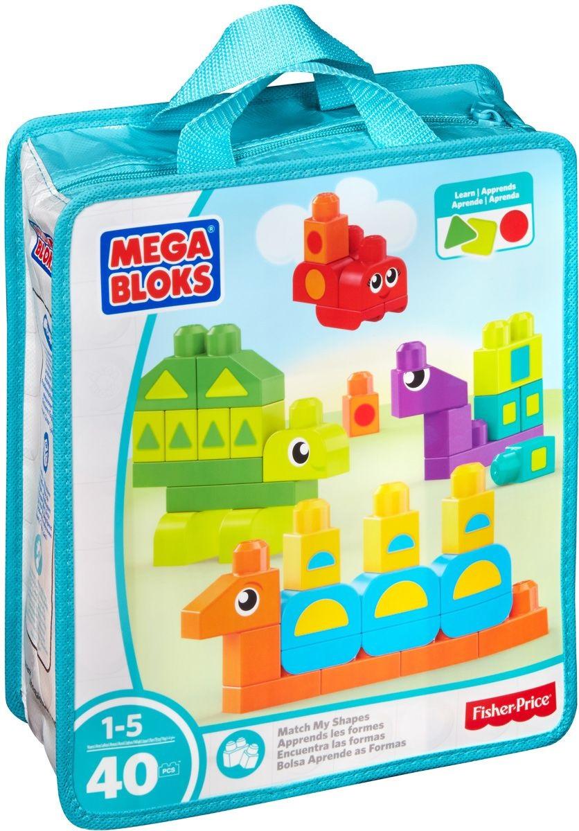 Обучающий конструктор - Разные формыКонструкторы Mega Bloks<br>Обучающий конструктор - Разные формы<br>