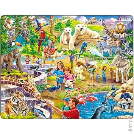 Пазл – Зоопарк из 48 деталей фото