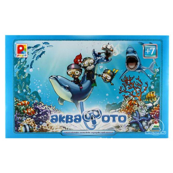 Настольная игра  Аква-фото солнечной - Животные и окружающий мир, артикул: 140903
