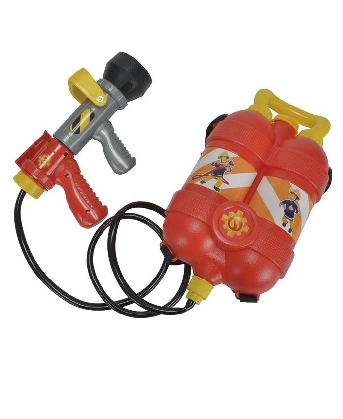 Водный пистолет с рюкзаком «Пожарный Сэм»Водяные пистолеты<br>Водный пистолет с рюкзаком «Пожарный Сэм»<br>