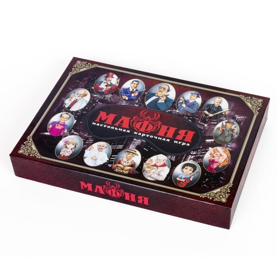 Настольная игра – Мафия, с масками фото