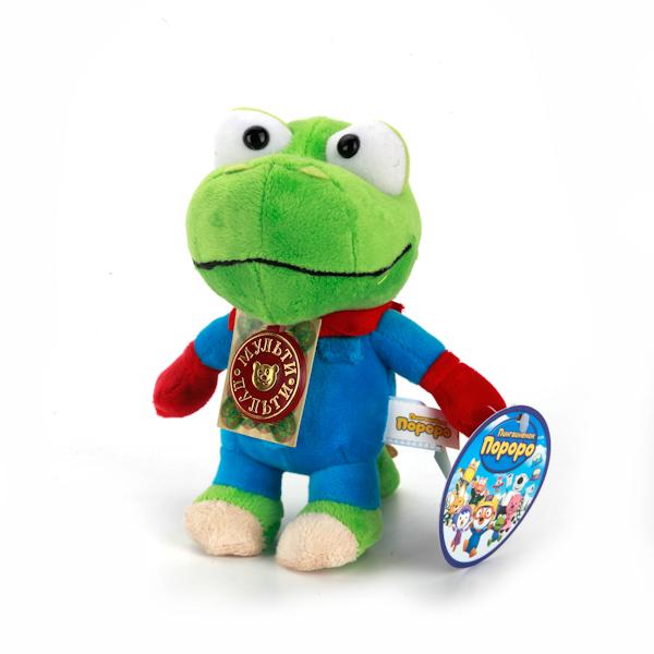 Озвученная мягкая игрушка Пингвиненок Пороро - Кронг, 17 смГоворящие игрушки<br>Озвученная мягкая игрушка Пингвиненок Пороро - Кронг, 17 см<br>