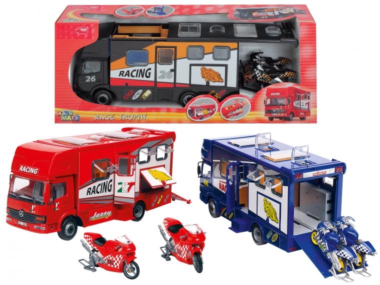 Набор: автогонки - Пожарные машины, автобусы, вертолеты и др. техника, артикул: 17890