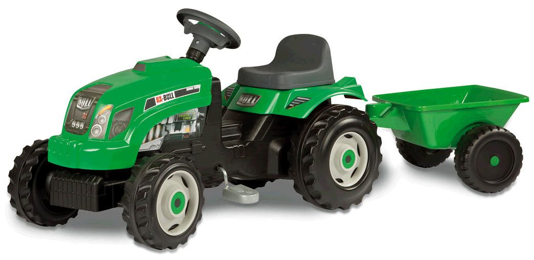 GM Bull трактор с тележкойПедальные машины и трактора<br><br>