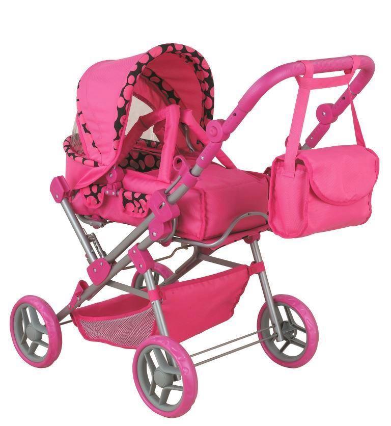 Купить Коляска для кукол Buggy Boom Infinia, классическая, цвет - b2