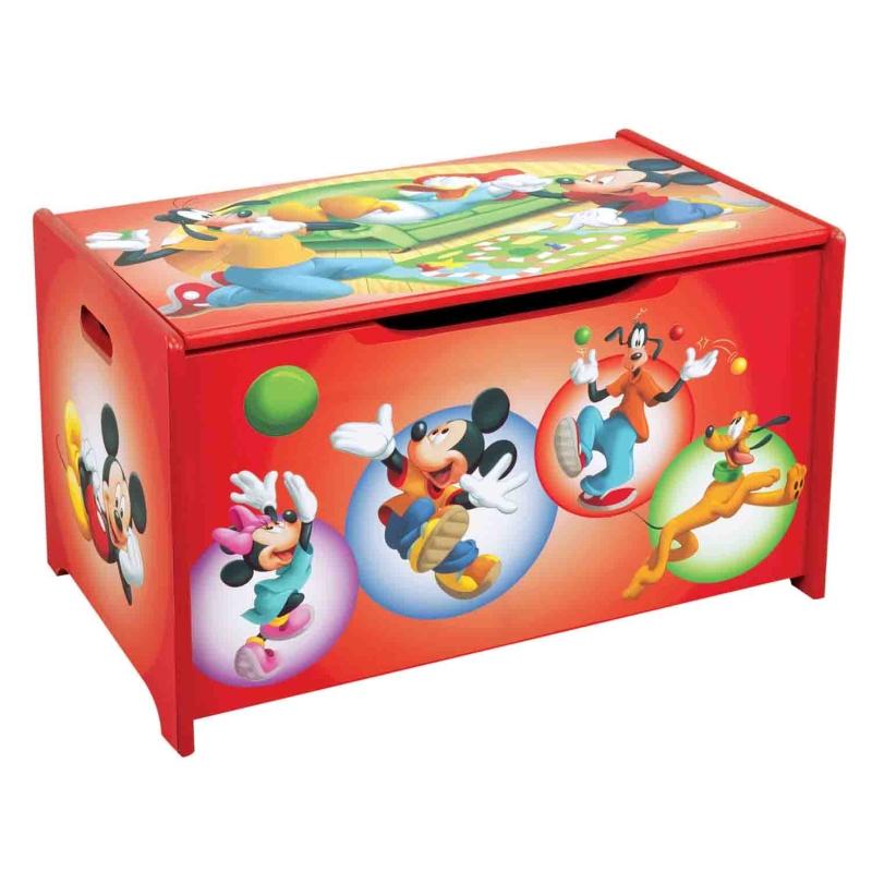Короб для игрушек - Микки и его друзьяКорзины для игрушек<br>Короб для игрушек - Микки и его друзья<br>