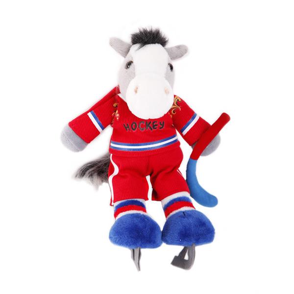 Мягкая игрушка Конь ХоккеистЖивотные<br>Мягкая игрушка Конь Хоккеист<br>