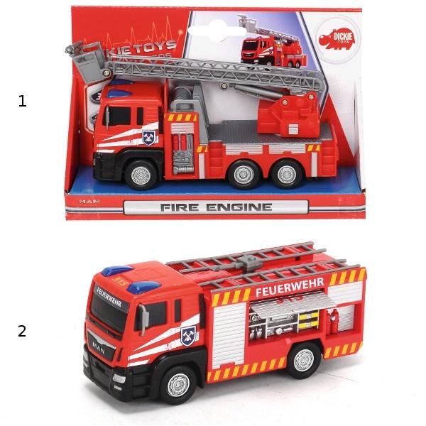 Пожарная машина, 2 вида, 17 см.Пожарная техника, машины<br>Пожарная машина, 2 вида, 17 см.<br>