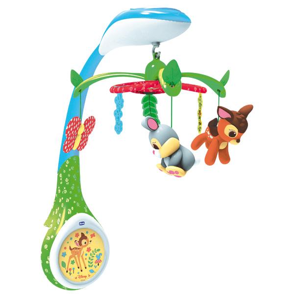 Игрушка-проектор для кроватки Бэмби - Музыкальные ночники и проекторы, артикул: 143479
