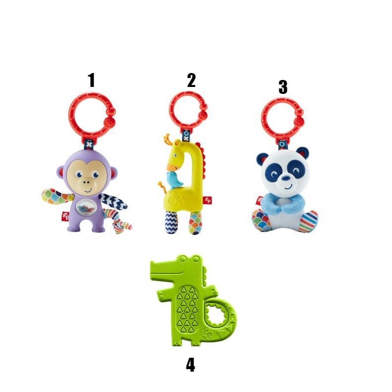 Погремушка-прорезывательРазвивающие игрушки Fisher-Price<br>Погремушка-прорезыватель<br>