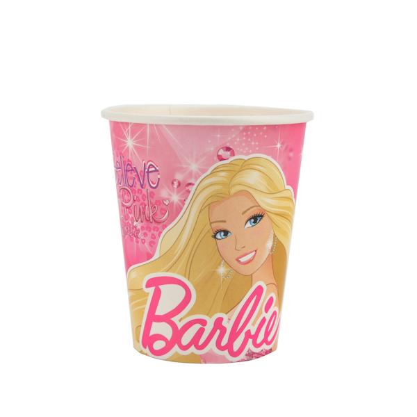 Набор из 6-и бумажных стаканчиков - BarbieBarbie (Барби)<br>Набор из 6-и бумажных стаканчиков - Barbie<br>