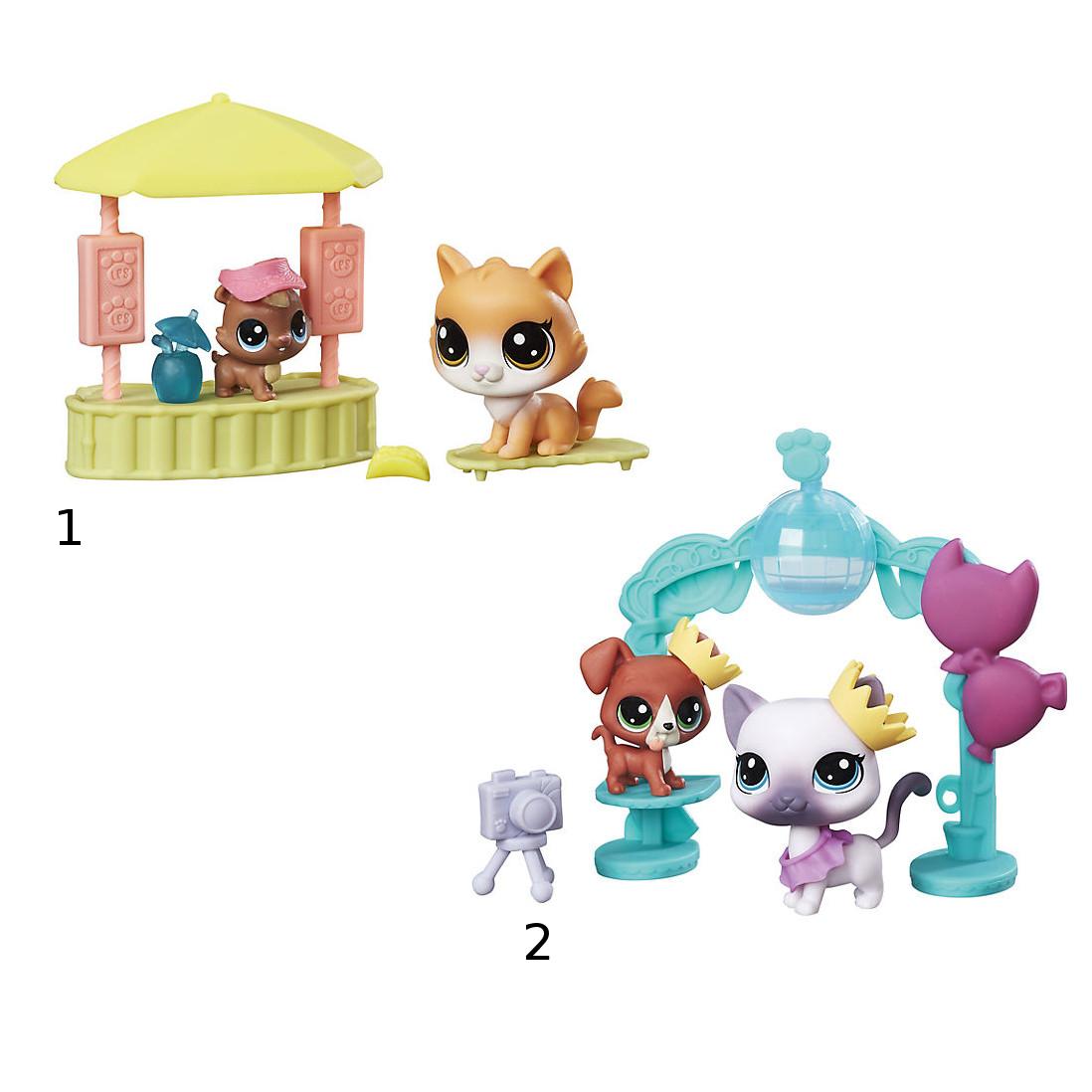 Игровой набор Littlest Pet Shop Чудесные ПриключенияLittlest Pet Shop – Маленький зоомагазин<br>Игровой набор Littlest Pet Shop Чудесные Приключения<br>