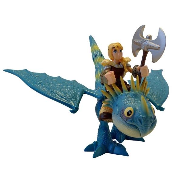 Игровой набор - Дракон и всадница – Астрид и Громгильда, серия DragonsКак приручить Дракона<br>Игровой набор - Дракон и всадница – Астрид и Громгильда, серия Dragons<br>