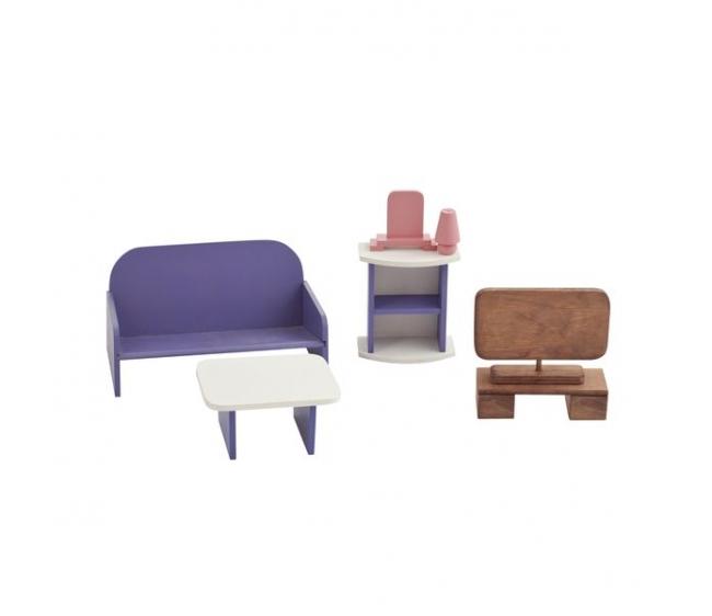 Купить Набор мебели для Барби – Гостиная, Paremo